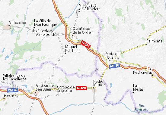 Mappe-Piantine El Toboso