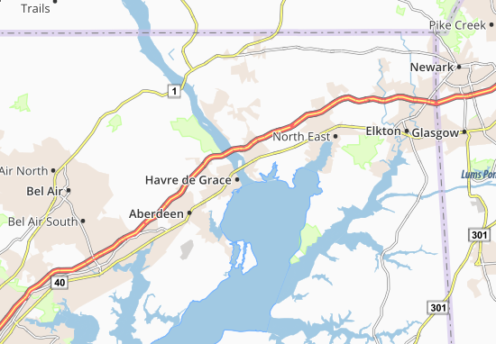 Carte-Plan Perryville