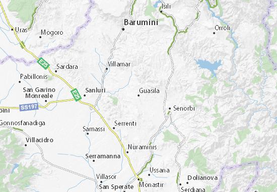 Mappe-Piantine Guasila