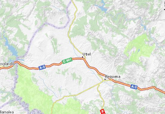 Utiel Map