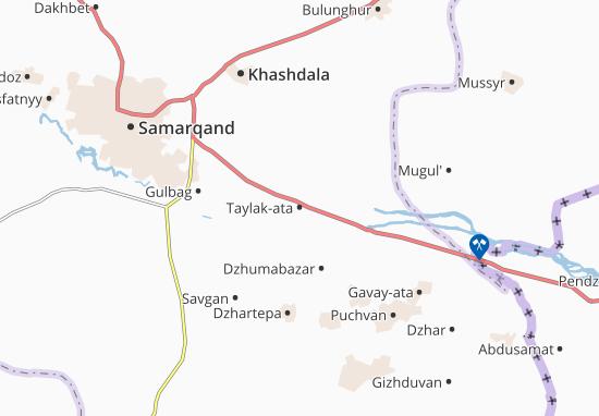 Taylak-ata Map