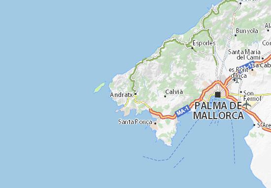 Mapas-Planos Andratx