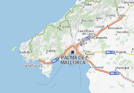 Carte-Plan La Vileta