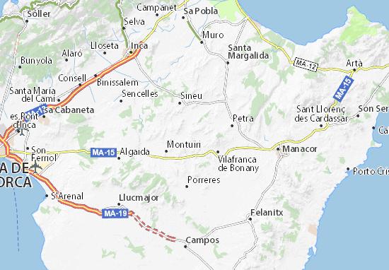 Mapas-Planos Sant Joan