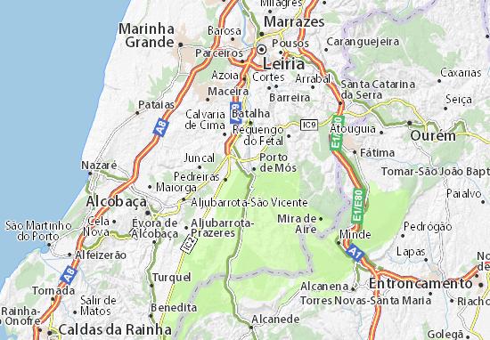 Mapa Plano Porto de Mós-São Pedro