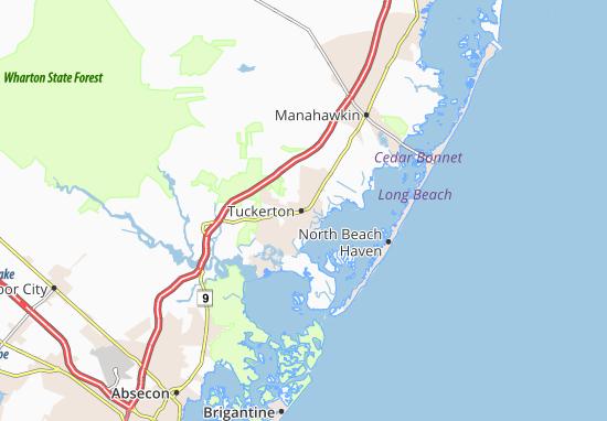 Tuckerton Map