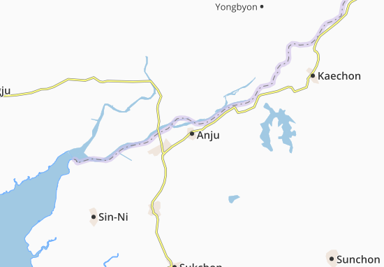 Mapa Plano Anju