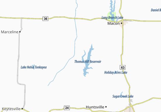 Kaseyville Map
