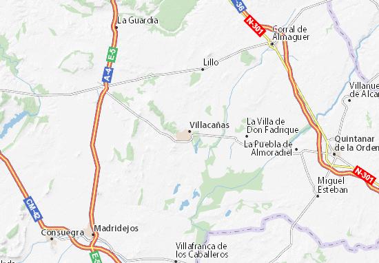 Mappe-Piantine Villacañas