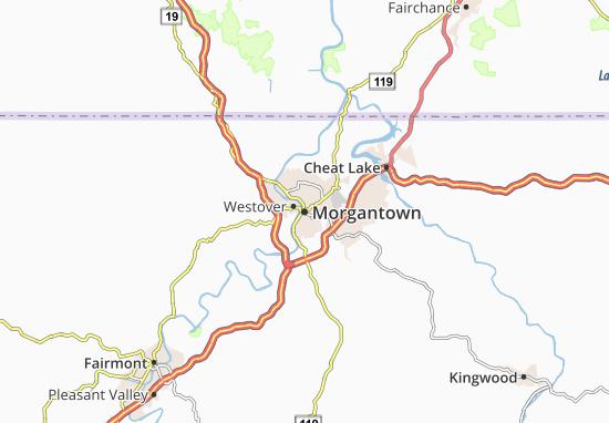 Mappe-Piantine Morgantown