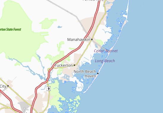 West Creek Map
