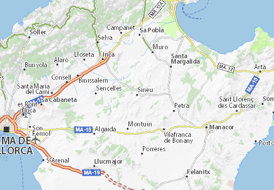 Sineu Map