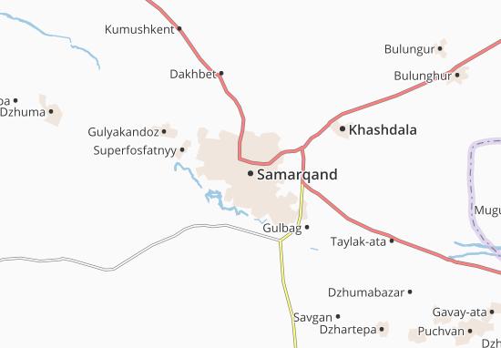 Samarqand Map