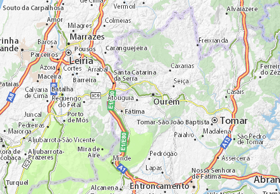 pinhel mapa Mapa Pinhel   plano Pinhel  ViaMichelin pinhel mapa