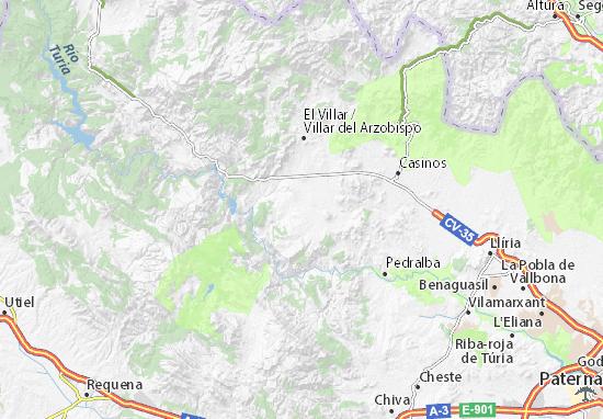 Vanacloig Map