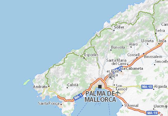Esporles Map