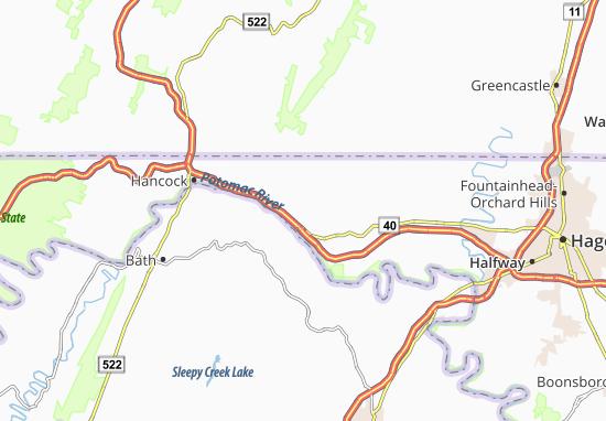 Pecktonville Map