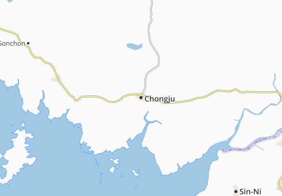 Chongju Map