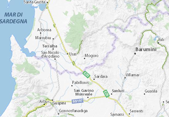 Mogoro Map