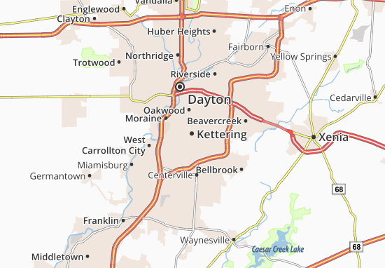 Kettering Map