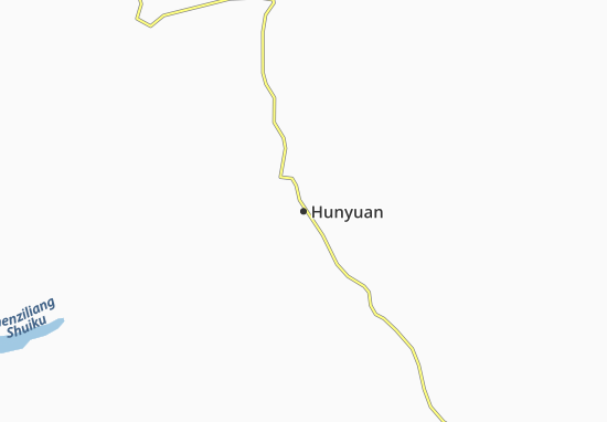 Kaart Plattegrond Hunyuan
