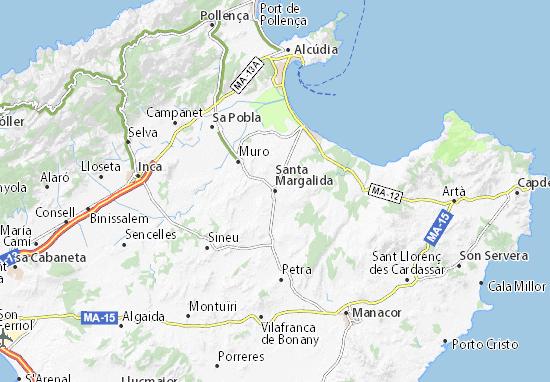 Mapas-Planos Santa Margalida