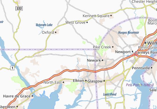 Fair Hill Map