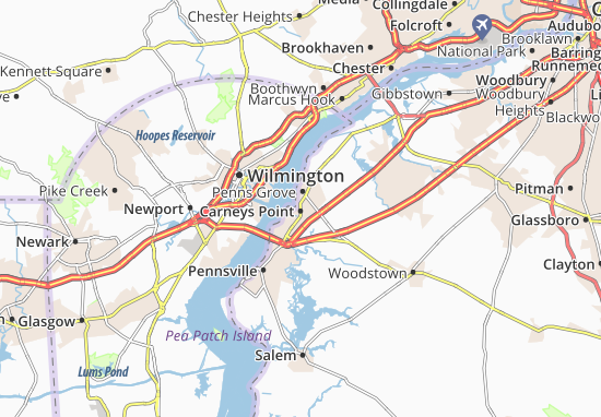 Carneys Point Map