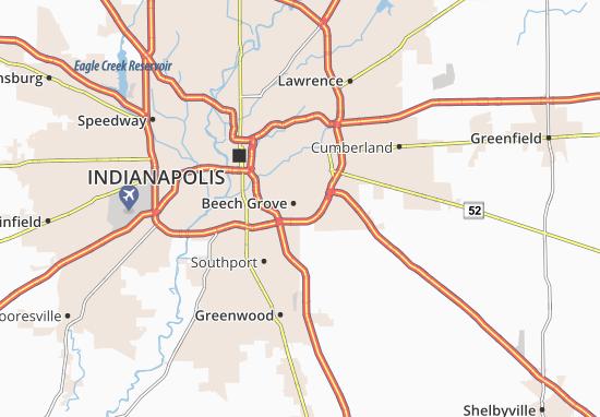 Beech Grove Map