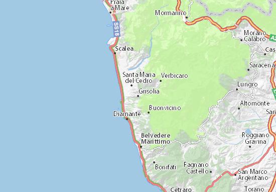 Mappe-Piantine Grisolia