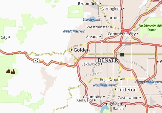 West Pleasant View Map