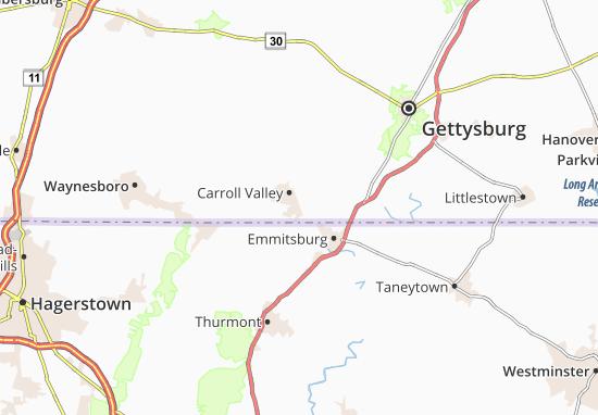 Carroll Valley Map