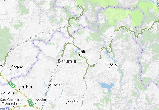 Mappe-Piantine Isili