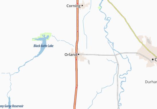Carte-Plan Orland