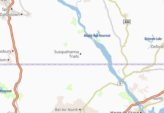 Susquehanna Trails Map