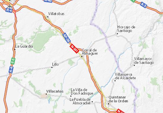 Mappe-Piantine Corral de Almaguer