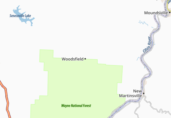 Woodsfield Ohio Map.Woodsfield Map Detailed Maps For The City Of Woodsfield Viamichelin