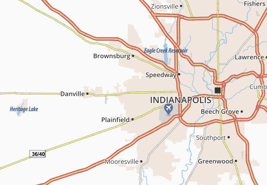 Avon Map
