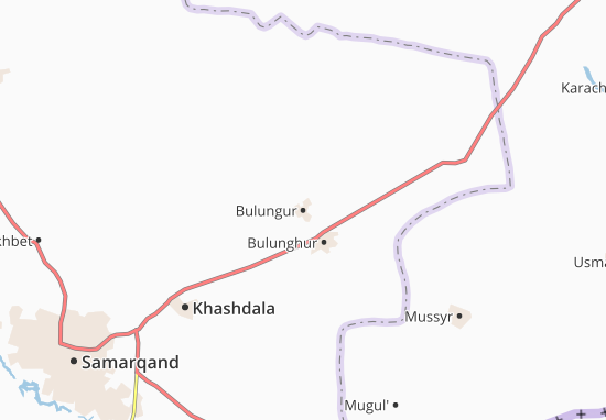 Bulungur Map