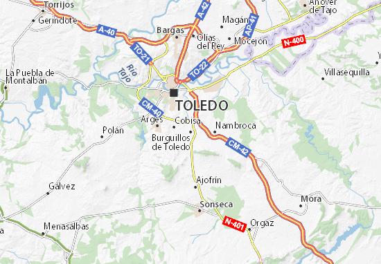 Mapas-Planos Burguillos de Toledo