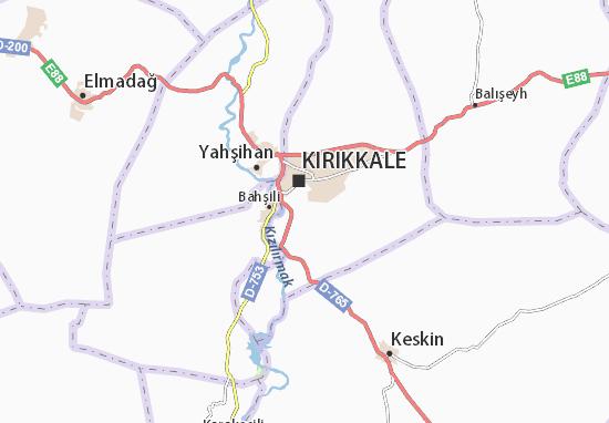 Mapas-Planos Kırıkkale