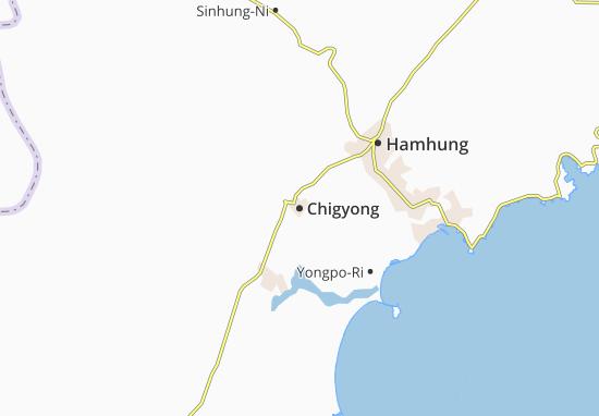 Chigyong Map
