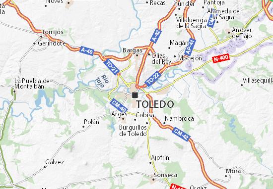 Mapas-Planos Toledo