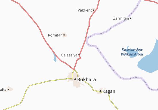 Kaart Plattegrond Galaasiya