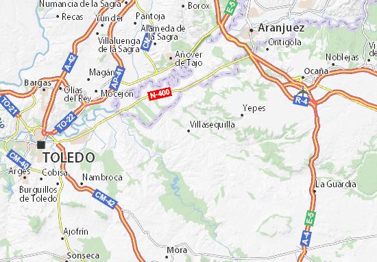 Mapas-Planos Villasequilla