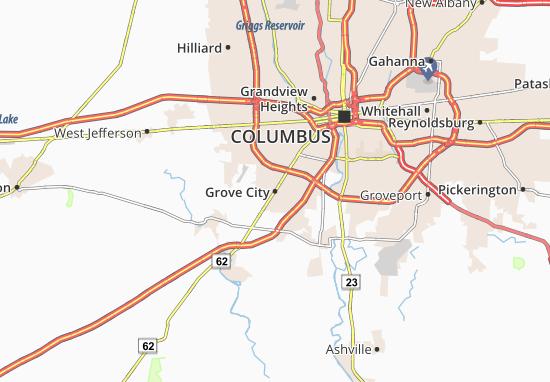 Grove City Map