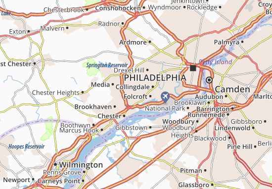 Folsom Map