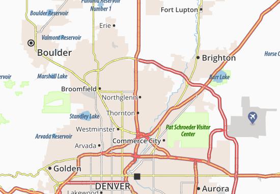 Northglenn Map