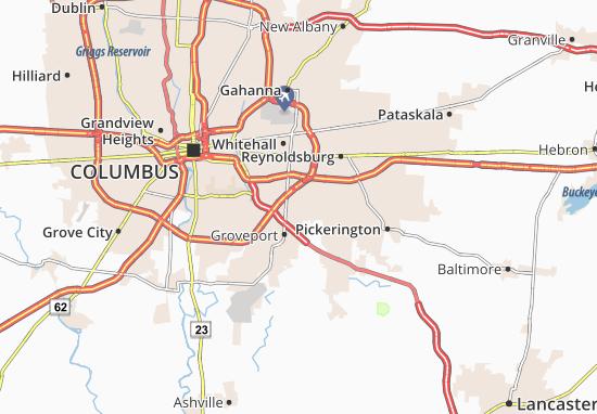 Mappe-Piantine Blacklick Estates
