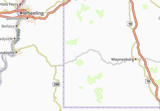 Wind Ridge Map